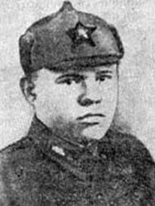 Герой Советского Союза П.П. Фефилов