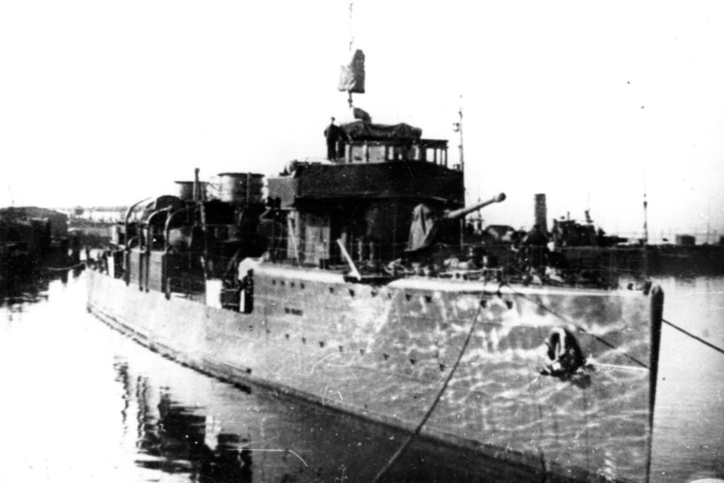 Эсминец «Карл Либкнехт», 1944 год