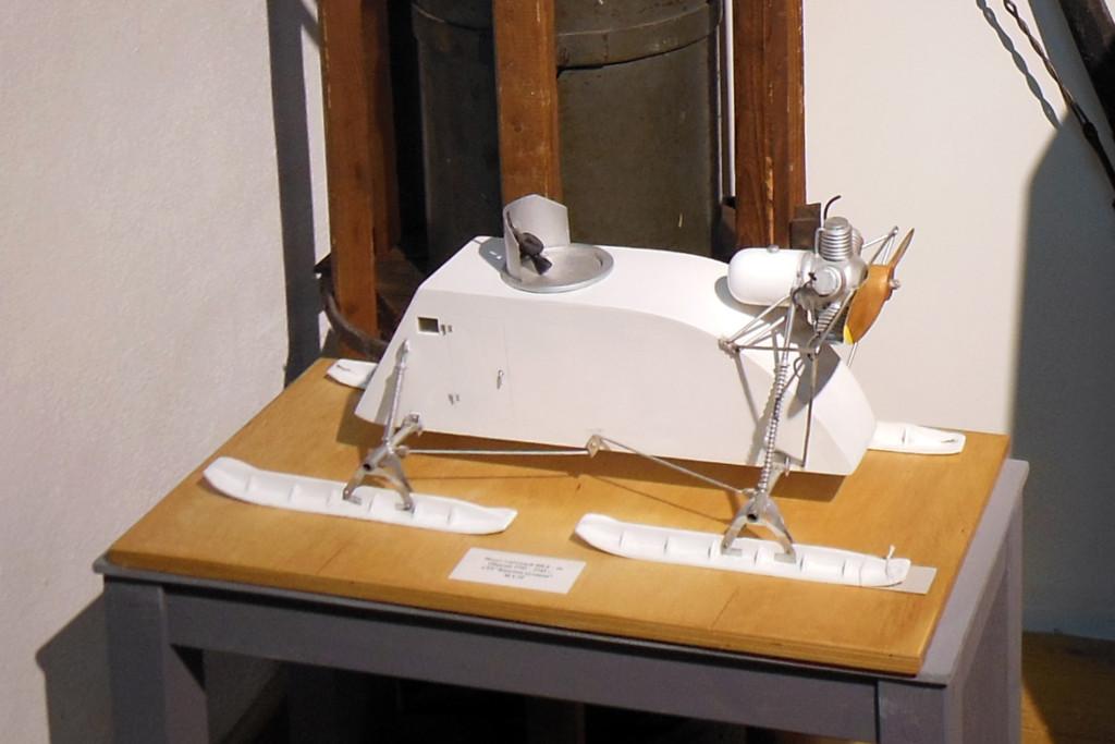 Макет аэросаней, выпускавшихся на «Красной Кузнице» в 1941-42 гг.